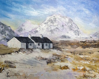 Black Rock Cottage - Rannoch Moor