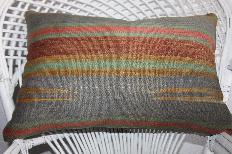 Natural Floor Pillows : floor pillow modern 16x24 cushion natural kilim cushions