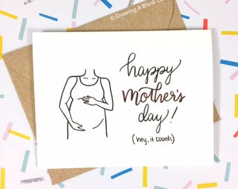 Unofficial First Mother's Day Card