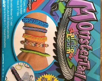 Rubber Band Crafting Kit- MonsterTail from the maker of Rainbow Loom for Bracelet Making etc