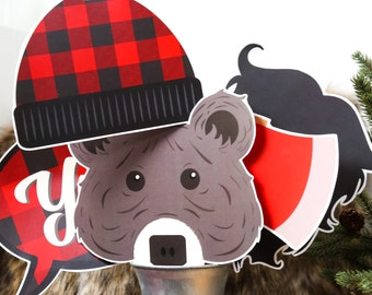 Pancakes & Plaid Party | Holiday Printables