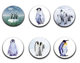 A pack of 6 penguin theme Pattern weights Ideal for weighing down patterns on delicate fabrics no need for pins TV sewing Bee