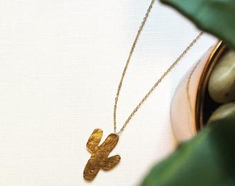 SENORA // Cactus Necklace