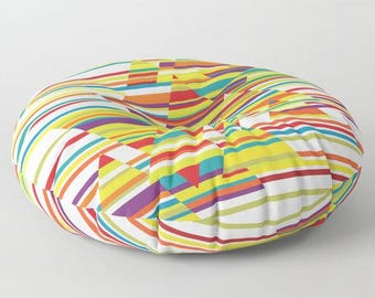 Colorful floor pillow,floor cushion,floor pillow seating,meditation pillow,floor pouf,round floor pillow,square floor pillow,outdoor pillow