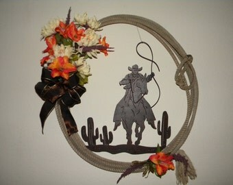 Rope Western Wreath
