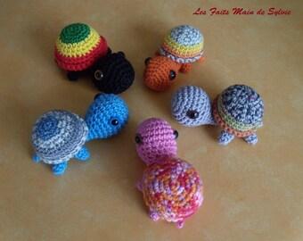 little turtle crochet