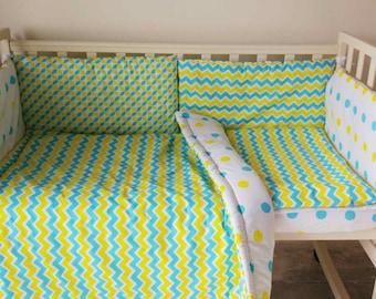 chevron bedding | etsy