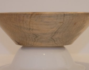 Hand Turned Spalted Maple