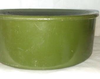 Spitoon, Metal, Green