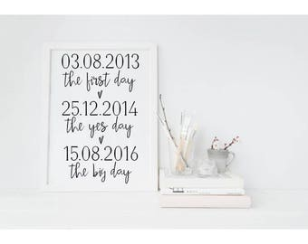 The Big Day Print