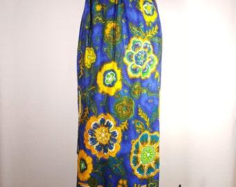 Boho Maxi Long Skirt Wrap Style Floral