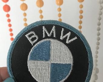 Vintage BMW Logo Emblem Patch