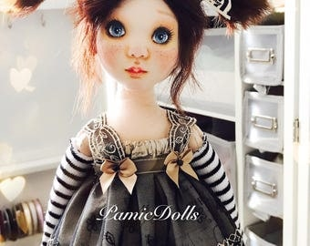 PamicDolls collection - 40cm fabric doll