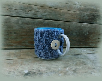 Tea Cup Cozy/ Wine Knit cup/ Cup cozy/ Cozy cup/ Coffee cup cozy/ Mug cozy/ Cup sleeve/ Coffee cozy/ Knitted Cup Warmer/ Coffee Mug Holder.