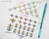 Travel Sign Planner Stickers | Stationery for Erin Condren, Filofax, Kikki K and scrapbooking