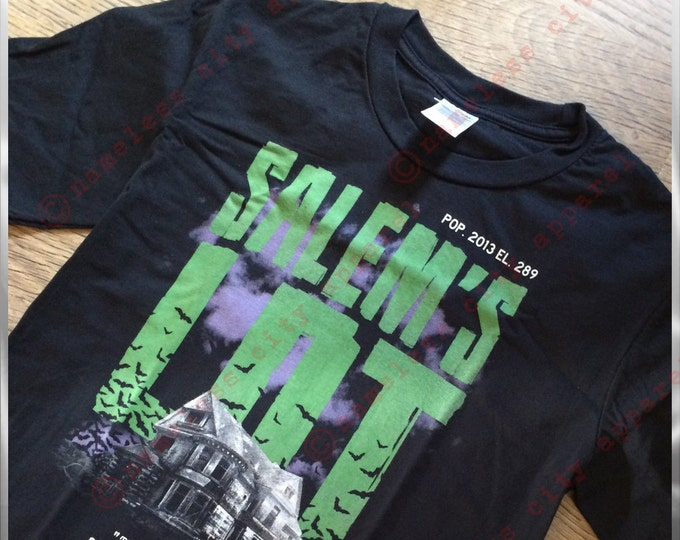 Featured listing image: Salems Lot-Stephen King comes to nameless city apparel. Based on the book and movie this awesome tee knows darkness. And darkness is enough.