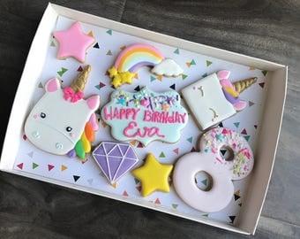Unicorn Birthday Gift Set