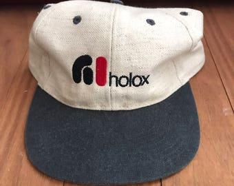 Vintage Holox Strapback Hat