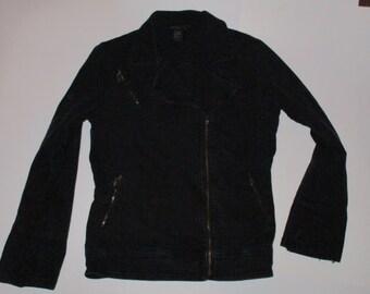 Women's Denim Jacket size Medium excellent used condition womens vintage Twiggy London