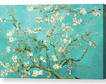 "Vincent Van Gogh ""Almond Blossom"" Canvas Box Art A4, A3, A2, A1 ++"