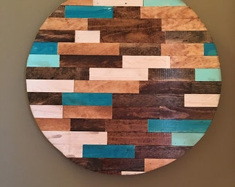 Rustic Circle Wood Art