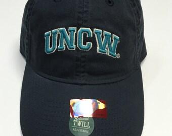 UNCW – Letters – Hat – Navy