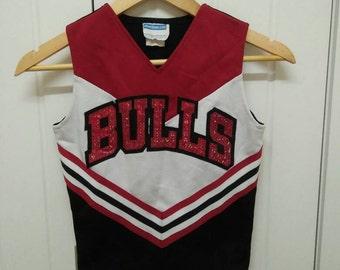 Rare Vintage BULLS Cheerleaders Costume Size YL