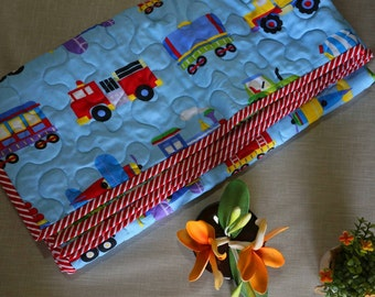 Blue baby Quilt/  Baby Quilt/ Vehical Quilt/ Cars Quilt /Baby shower Gift/ toddler quilt /Lap quilt/ Crib quilt/ babyquilt on sale/ sale