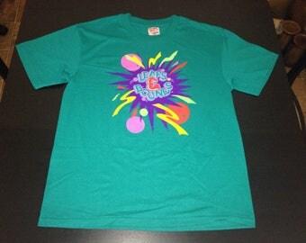 Vintage 90s MCDONALDS play place kids Leaps & Bounds t-shirt size Large