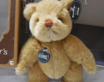 1985 Gund Bear - Gundy - Limited Edition Brown / Tan Gund Collector's Bear
