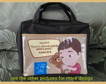 JW MINISTRY BAG (made by order)