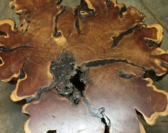 Mesquite End Table