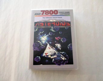 Asteroids Atari 7800 Custom Atari 7800  Case Only (***NO GAME***)