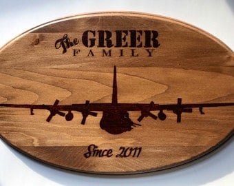 C-130 plaque