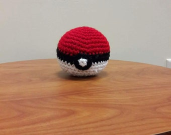 Crocheted Pokéballs