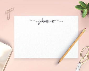 Personalized Stationery Set, Personalized Note Cards, Personalized Correspondence Cards, Personalized Thank You Cards