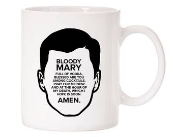 Archer Inspired Bloody Mary Speech Ceramic Coffee Mug 11oz White