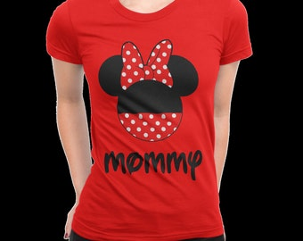 Women's Minnie Mouse personalized  T-Shirt