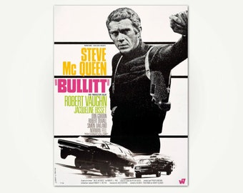 steve mcqueen etsy fr. Black Bedroom Furniture Sets. Home Design Ideas