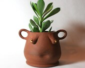 Image result for planter red planet pottery