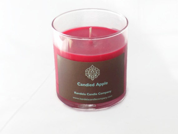 Candied Apple Scented Candle in Straight Tumbler
