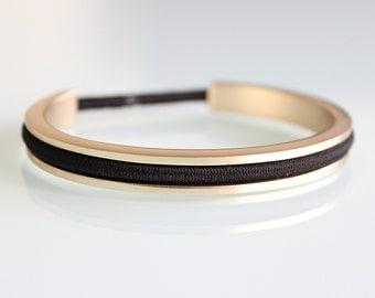 Hair Tie Bracelet, Hair Tie Bracelet Holder Cuff, Hair Band Bracelet NEW GLAMOUR GOLD. Great ...