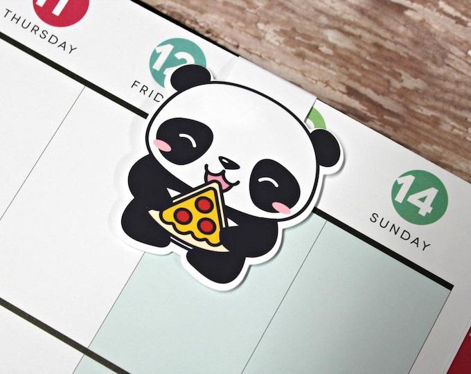 Panda Bookmark - Magnetic Planner Bookmark - Planner Clip - Panda Planner Clip - Magnetic Panda Bear Bookmark - Panda Bear Planner Clip