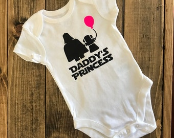 Daddy's Princess Bodysuit  - Valentine's Day Outfit - Baby Girl Creeper