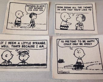 PATCHES The Smiths Peanuts Lyrics Lot #2