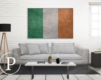 Vintage American Flag Wall Art american flag canvas 3 panel canvas flag large canvas multi