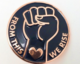 From this We Rise - Enamel Pin - Lapel Pin
