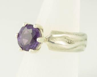 Ring • • silver Amethyst