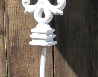 Door Stop, Wrought Iron Door Stop, Wrought Iron Décor, Wreath Holder