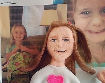 Lovely personalized doll
